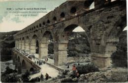 30*Gard* - Le Pont Du Gard - Lot De 5 Cartes Postales - (Voir Scan) - Sonstige Gemeinden