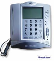 05561 Telefono Fisso A Tastiera - Made In China - Nuovo - Telefonia