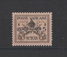 VATICAN. YT  N° 85A  Neuf *  1939 - Nuevos