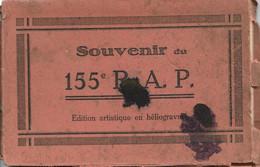 Carnet De 12 Cartes Du 155° R.A.P. - Artillerie Portée - Superbe Carnet Du Matériel Utilisé - Cartes Neuves - Equipment