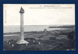 22. Saint-Cast Le Guildo. île Saint-Cast. Colonne De La Victoire Française Contre Les Anglais ( 11 Sept. 1758).1915 - Saint-Cast-le-Guildo