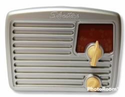 52497 Collezione Radio D'epoca In Miniatura - SILVERTONE Mod. C - Fabbri Editori - Apparecchi