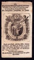 Santino-incisione: S. LUTGARDA DI TONGRES - BR - XIIX° Sec. - Mm. 78 X 139 - Religione & Esoterismo