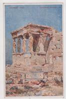 GREECE  ATHENES ,ERECHTEION, ,POSTCARD - Grèce