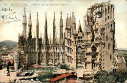 Spanje Spain Espana - Barcelona - Templo Sagrada Familia - 1910 - Non Classés
