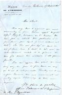 MAISON DE L'EMPEREUR NAPOLEON 3. PALAIS DES TUILERIES . 1860 - Documents Historiques