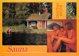 Finlande - Saunamokki Kuuluu Suomen Rantaviivaan - The Sauna Is An Inséparable Feature Of The Water Front - CPM - Carte - Finlandia