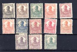 Guinée Espagnole, Alphonse XIII, 116 / 128*, Cote 35 € - Guinea Espagnole