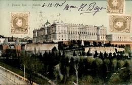 Spanje Spain Espana - Madrid - Palacia Real - 1905 - Non Classés