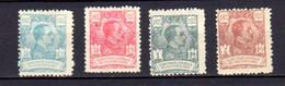 Guinée Espagnole,  Alphonse XIII, 193-194-195-196*, Cote 24 € - Guinea Espagnole