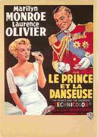 Cinema - Affiche De Film - Le Prince Et La Danseuse - Marilyn Monroe - Laurence Olivier - Carte Neuve - CPM - Voir Scans - Posters Op Kaarten