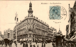 Spanje Spain Espana - Madrid - La Equitativa - 1910 - Non Classés