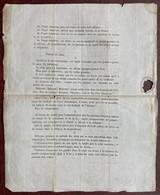 Adresse D'Amédée Martin, Curé De Pernes, Candidat Aux élections, Au Peuple Laboureur. Contre La Conscription, Etc. - Documents Historiques
