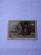 Chile1910/40 Cromos No Postcard.plain Back. Poste Flag.timbre Duval Pills Throat Disease.& Hucke Cookies Flag &cct Man.r - Chile