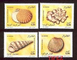 Année 2002-N°1328/1331 Neufs**MNH : Faune - Coquillages - Argelia (1962-...)