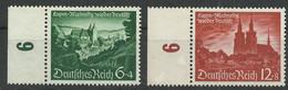 Deutsches Reich 748/749 ** - Unused Stamps