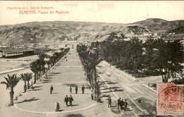 Spanje Spain Espana - Almeria - Paseo Del Malecon - 1911 - Unclassified