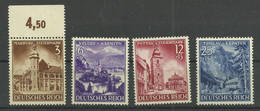 Deutsches Reich 806/809 ** - Unused Stamps