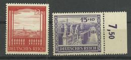 Deutsches Reich 804/805 ** - Unused Stamps
