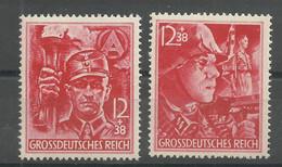 Deutsches Reich 909/910 ** - Unused Stamps