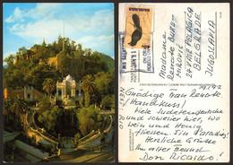 Chile Santiago De Chile Santa Lucia Bahamas Nice Stamp #16147 - Chile