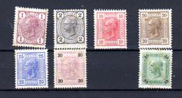 Autriche 1899-02, François-Joseph, Entre 65 Et 80*, Cote 130 € - Ongebruikt