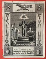 Anno 1838 Doodsprentje Décés - MARIA GROENE - BERGEIJK - ANTWERPEN - Devotion Images