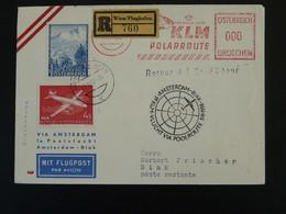 Lettre Premier Vol First Flight Cover Amsterdam Biak Polar Route KLM 1958 Ref 99479 - 1945-60 Cartas