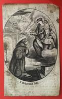 Anno 1830 Doodsprentje Décés - JOANNES BAPTISTA MOLINET - ST. TRUIDEN - Devotieprenten