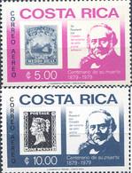 Ref. 302898 * NEW *  - COSTA RICA . 1979. CENTENARY OF ROWLAND HILL'S DEATH. CENTENARIO DE LA MUERTE DE ROWLAND HILL - Costa Rica