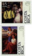 Ref. 30982 * NEW *  - COSTA RICA . 1996. AMERICA-UPAEP. REGIONAL COSTUMES. AMERICA-UPAEP 1996 -  TRAJES REGIONALES - Costa Rica