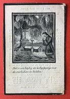 Anno 1839 Doodsprentje Décés - PETRUS ENGELEN - HASSELT - Devotieprenten