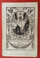 Anno 1838 Doodsprentje Décés - CONSTANTIN DU FOUR Echtg VAN OBBERGH - DENDERMONDE - Devotieprenten