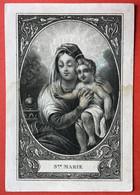 Anno 1838 Doodsprentje Décés - MARIA BRANDTS - MECHELEN - Devotion Images