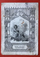 Anno 1838 Doodsprentje Décés - CHRISTINA NIESEN Wed BELLEMANS - HASSELT - Devotieprenten