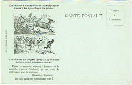 Société Contre La Cruauté Envers Les Animaux.  Chasse à Courre. Bruxelles-Anderlecht. Illustrateur. - Unclassified