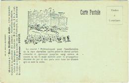 Société Contre La Cruauté Envers Les Animaux.  Course à Cheval. Bruxelles-Anderlecht. Illustrateur. - Unclassified