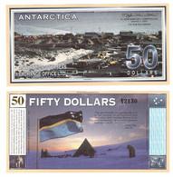 Antarctica - 50 Dollars 2001 UNC Lemberg-Zp - Other