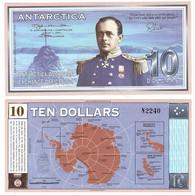 Antarctica - 10 Dollars 2001 UNC Lemberg-Zp - Other