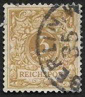 ALLEMAGNE   1889-1900  -   YT  45  -  Oblitéré - Usados