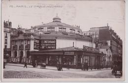 PARIS 18e - Le Cirque Médrano Spectacle - Arrondissement: 18