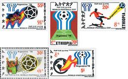 Ref. 53272 * NEW *  - ETHIOPIA . 1978. FOOTBALL WORLD CUP. ARGENTINA-78. COPA DEL MUNDO DE FUTBOL. ARGENTINA-78 - Etiopía