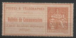 Timbre Téléphone N° 18 COTE 140 € Neuf. Qualité TB Vendu à 15% De La Cote - Telegraphie Und Telefon