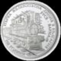 10 Lv -150 Years First Railway Line In Bulgaria Ruse - Varna - Bulgaria 2016 - Silver Coin - Bulgaria