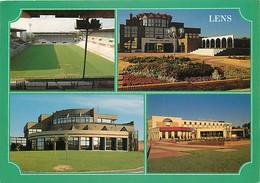 62 - Lens - Multivues - Stade Bollaert - Médiathèque - CPM - Voir Scans Recto-Verso - Lens