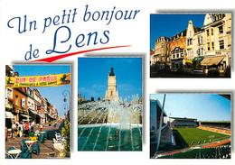 62 - Lens - Multivues - Stade Bollaert - CPM - Voir Scans Recto-Verso - Lens