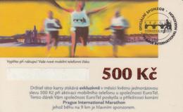 MARATHON DE PRAGUE EUROTEL N500KC  / EUROTEL   2 SCANS - Sport