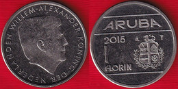 """Aruba 1 Florin 2015 Km#56 """"Willem - Alexander"""" AU - Other - America"""
