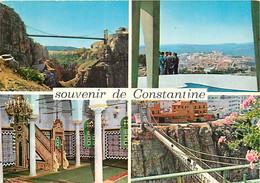 Algérie - Constantine - Multivues - CPM - Etat Léger Pli Visible - Voir Scans Recto-Verso - Constantine