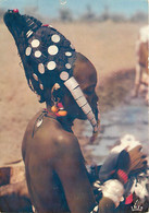 Niger - Coiffure Nigérienne - Scènes Et Types - Voir Timbre - CPM - Etat Pli Visible - Voir Scans Recto-Verso - Niger